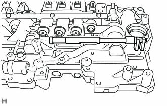 Toyota Tacoma 2015-2018 Service Manual: Removal - Valve Body