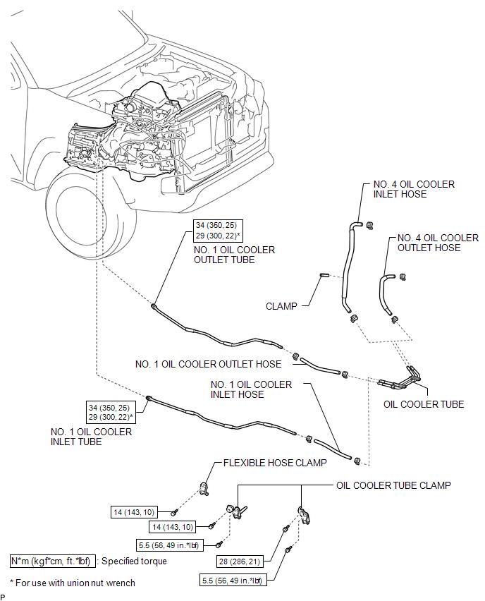 Toyota Tacoma 2015-2018 Service Manual: Components - Oil ...