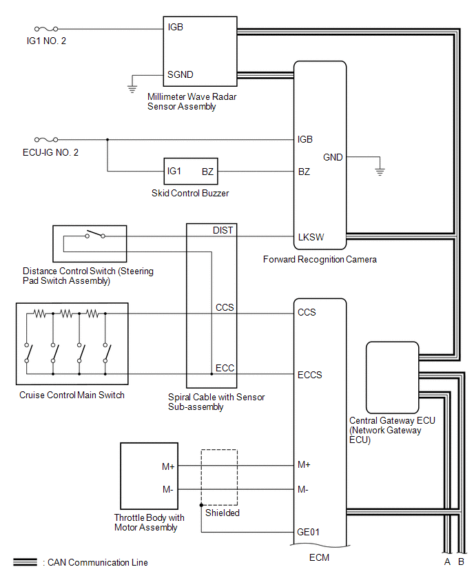 Toyota Cruise Control Diagram   Wiring Diagram