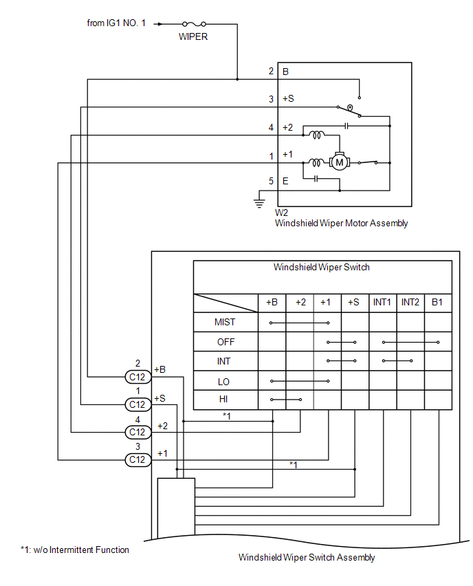Windshield Wiper System Diagram View Manual Guide