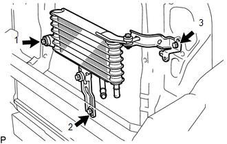 Toyota Tacoma 2015 2018 Service Manual Installation Oil Cooler For 2gr Fks Ac60e Automatic Transmission Transaxle